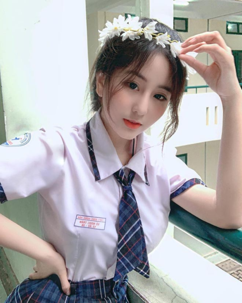 Ảnh gái xinh cấp 2-3 siêu cute