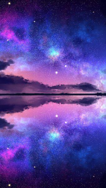 Ảnh Galaxy anime bầu trời đêm
