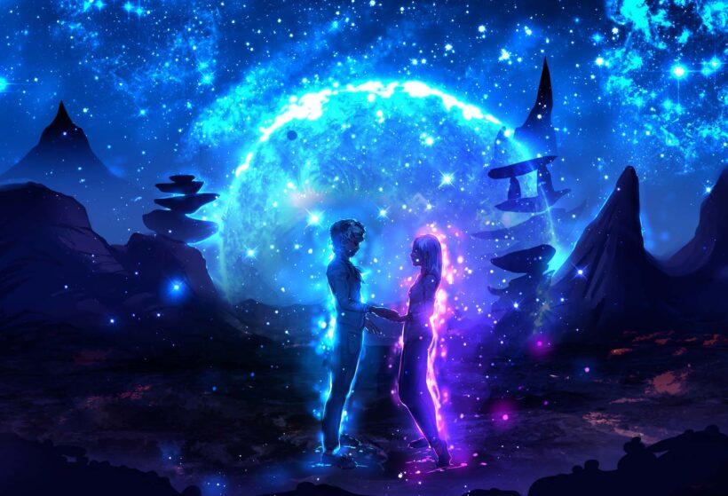 Ảnh Galaxy cặp đôi
