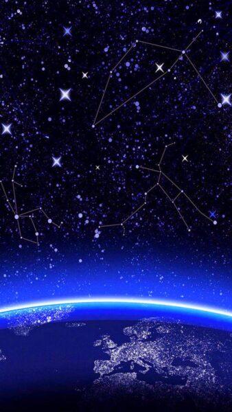 Ảnh Galaxy độc đáo cho di động