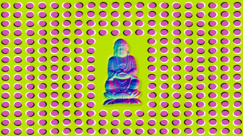 Ảnh gây ảo giác Đức Phật