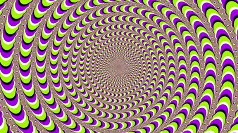 Ảnh gây ảo giác mạnh cho đôi mắt bạn