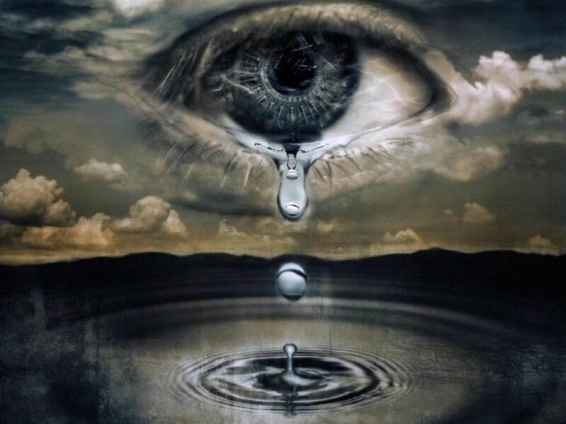 Ảnh giọt nước mắt