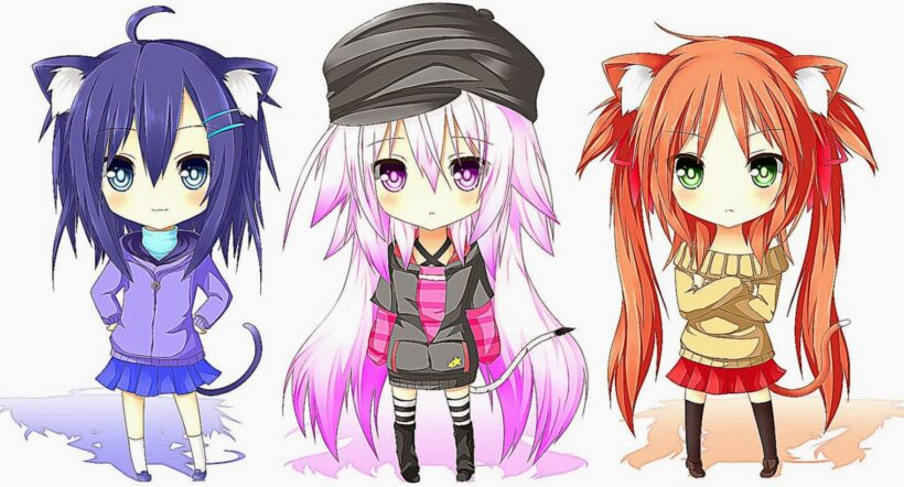 Ảnh những nữ anime cute đẹp