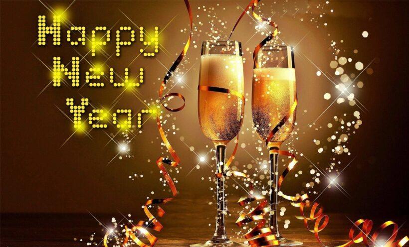 Ảnh rượu bia chúc mừng năm mới