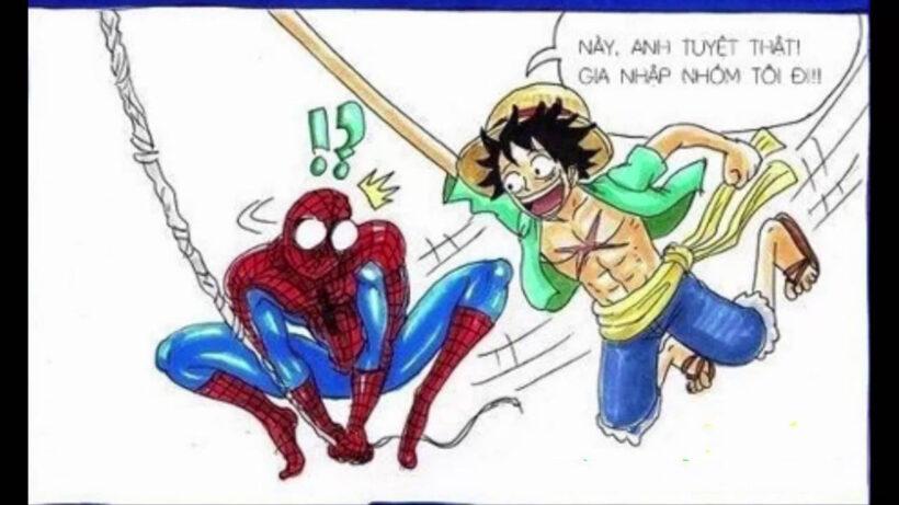 Ảnh vẽ chế One Piece cực hài
