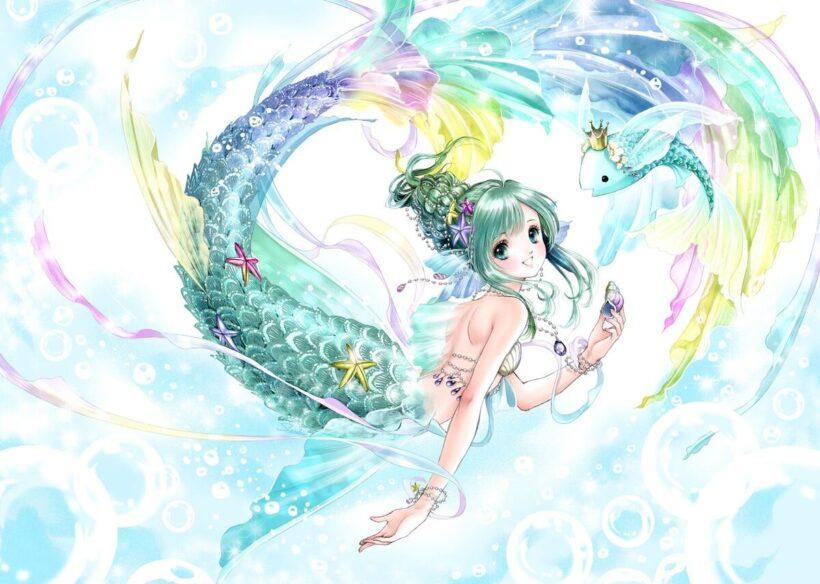 Anime cung Song Ngư dễ thương