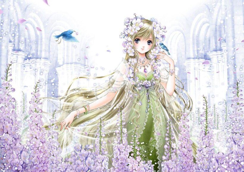 Anime cung Xử Nữ đẹp nhă theien thần