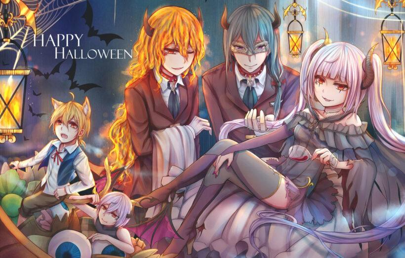 anime Halloween đẹp