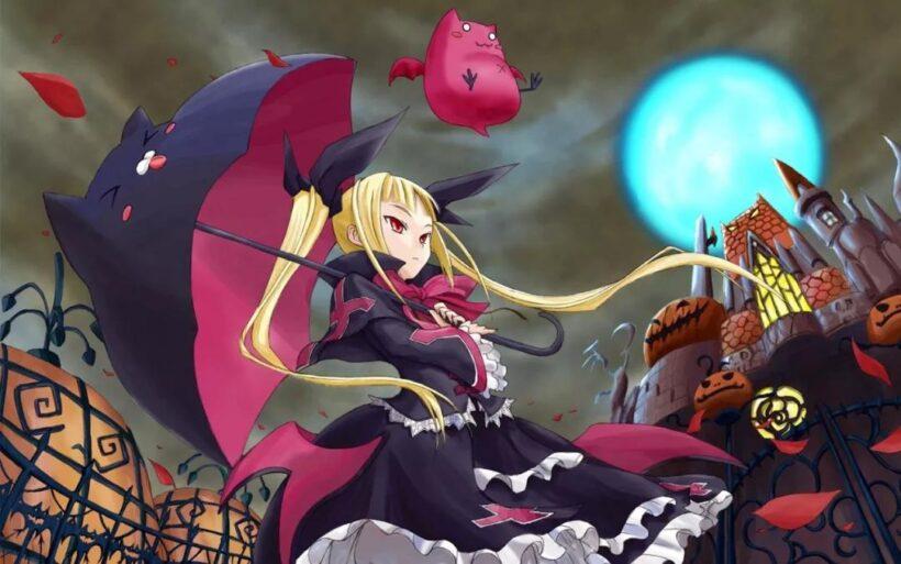 anime Halloween đẹp cho máy tính