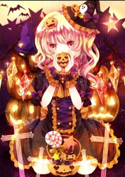 anime Halloween đẹp nhất