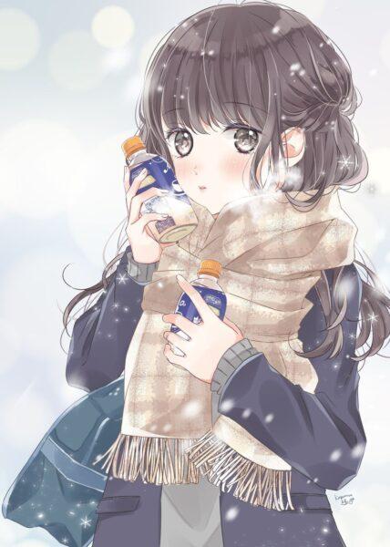 Anime mùa đông dễ thương