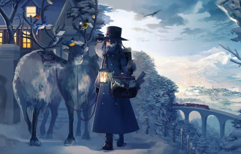 Anime mùa đông đẹp