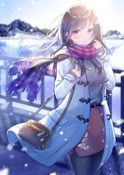 Anime mùa đông xinh đẹp