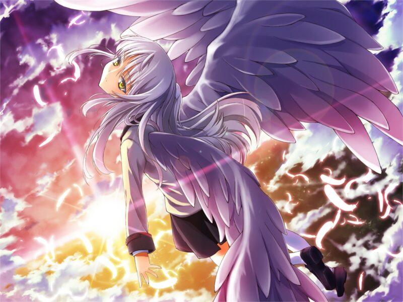 Anime thiên thần có cánh đẹp