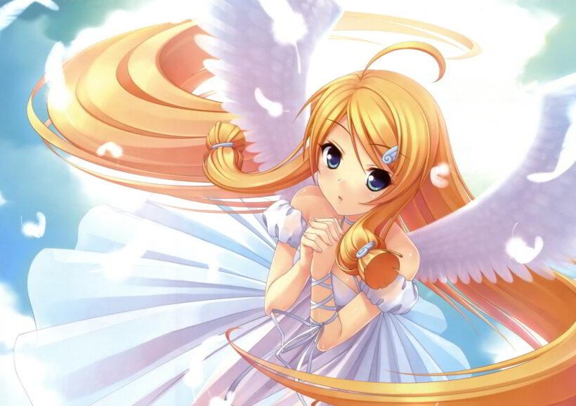 Anime thiên thần dễ thương, đẹp