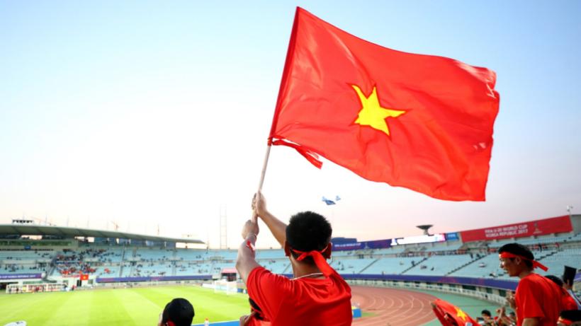 cờ đỏ sao vàng tự hào dân tộc