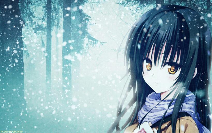 Girl anime mùa đông