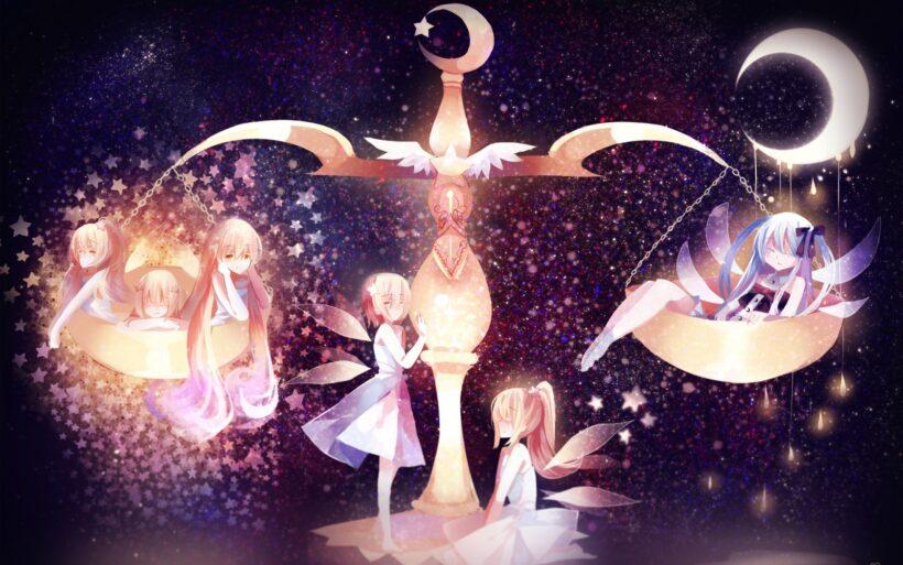 Hình Ảnh 12 cung hoàng đạo anime Thiên Bình