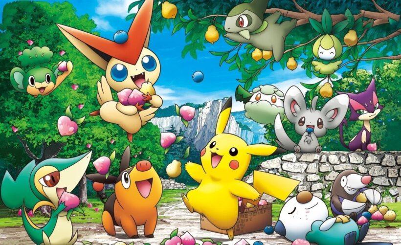 Hình ảnh 3D hoạt hình Pokemon dễ thương, cute