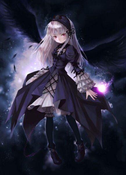 Hình ảnh anime ác quỷ bóng đêm