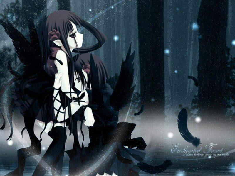 Hình ảnh anime ác quỷ buồn