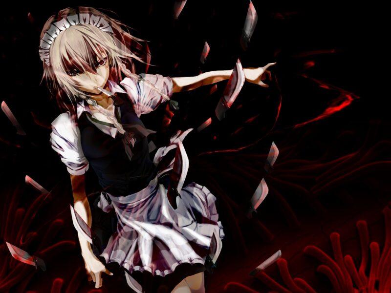 Hình ảnh anime ác quỷ đáng sợ