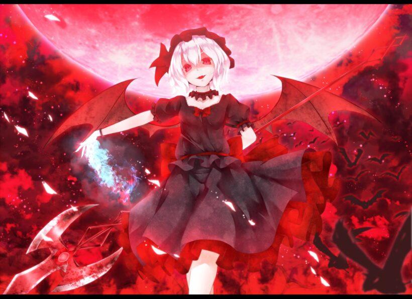 Hình ảnh anime ác quỷ đỏ