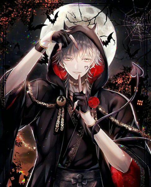 Hình ảnh anime ác quỷ ma cà rồng - Copy