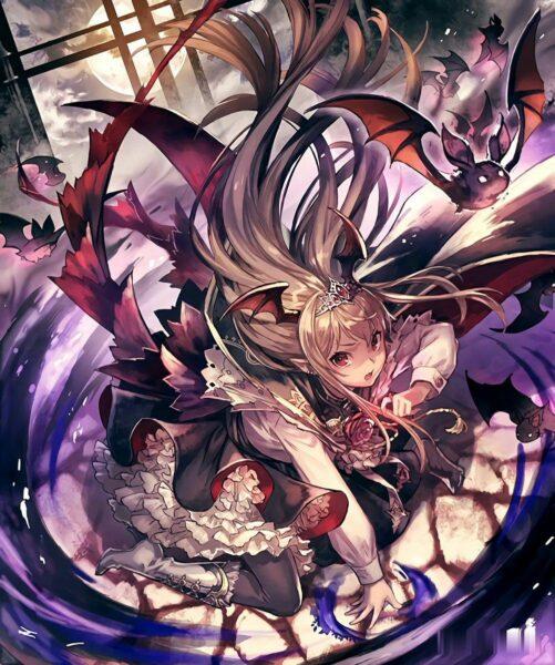 Hình ảnh anime ác quỷ ngầu - Copy