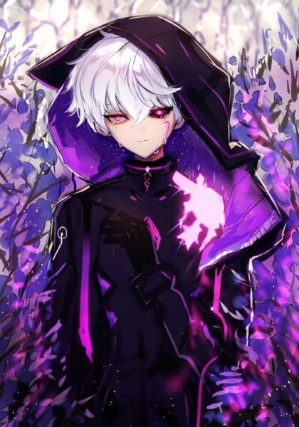 Hình ảnh anime ác quỷ tóc bạch kim - Copy