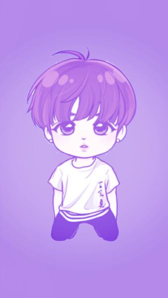 Hình ảnh anime chibi Hàn Quốc