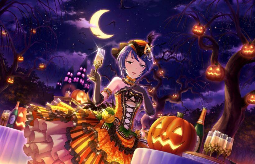 Hình ảnh anime Halloween cực ấn tượng