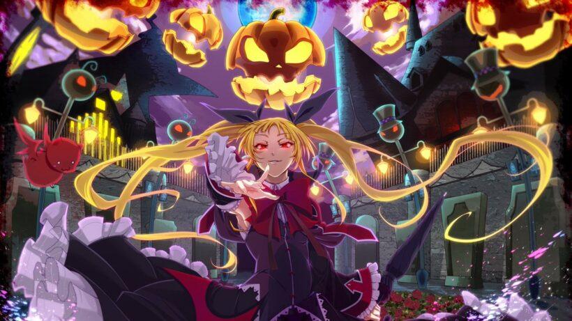 Hình ảnh anime Halloween cực ngầu