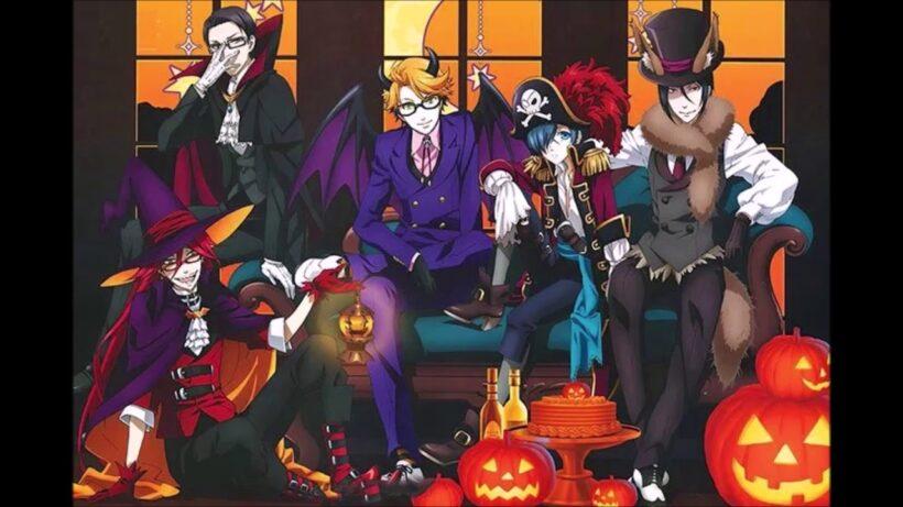 Hình ảnh anime Halloween đẹp, ấn tượng
