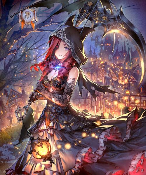 Hình ảnh anime Halloween đẹp cực chất