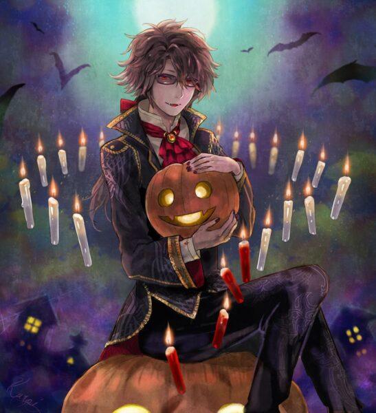Hình ảnh anime Halloween đẹp, ngầu