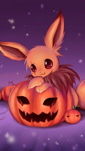 Hình ảnh anime Halloween đẹp, ngộ nghĩnh