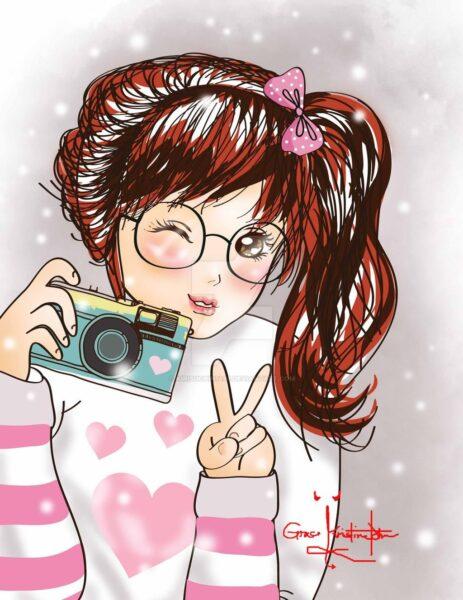 Hình ảnh anime Hàn Quốc cá tính