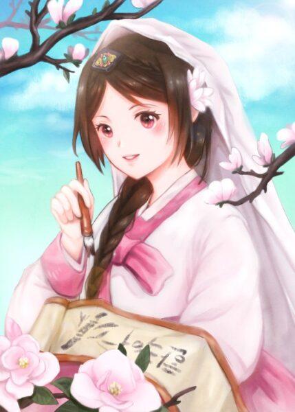 Hình ảnh anime Hàn Quốc cực xinh