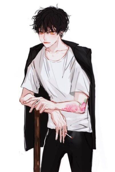Hình ảnh anime Hàn Quốc ngầu
