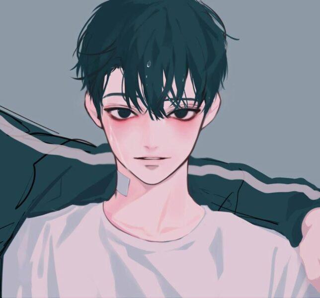 Hình ảnh anime Hàn Quốc tóc đen