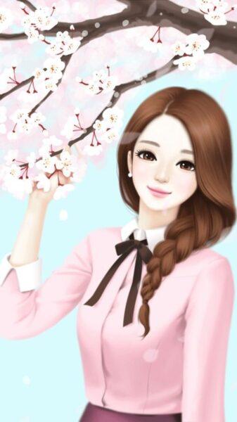 Hình ảnh anime Hàn Quốc xinh xắn