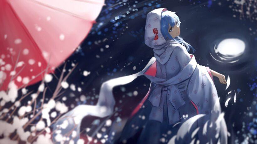 Hình ảnh anime mùa đông buồn nhất
