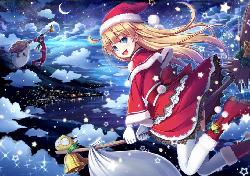 Hình ảnh anime mùa đông cực dễ thương