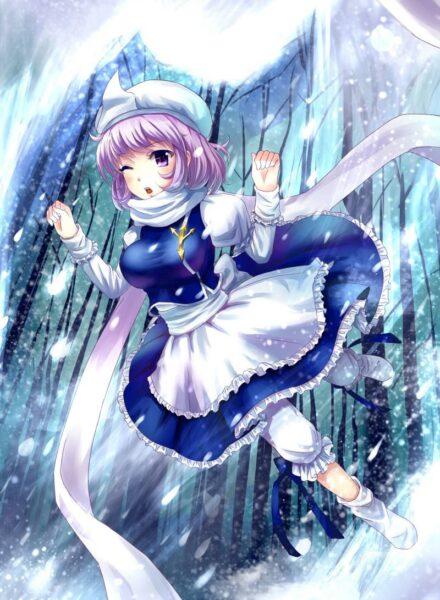 Hình ảnh anime mùa đông dễ thương quá