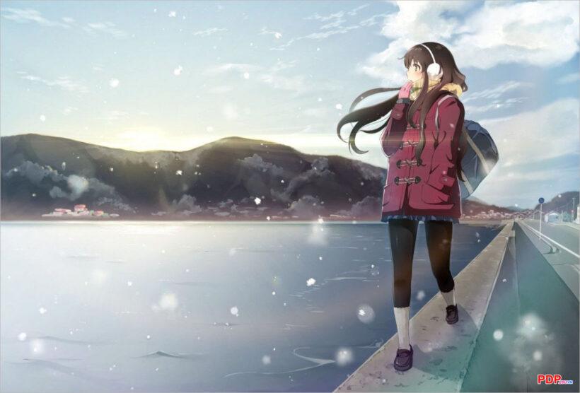 Hình ảnh anime mùa đông đẹp nhất