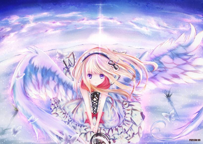 hình ảnh anime thiên thần