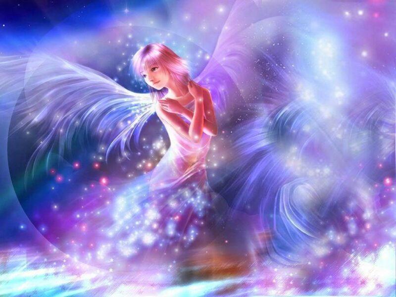 Hình ảnh anime thiên thần 3D