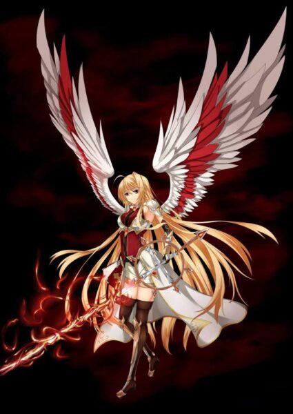 Hình ảnh anime thiên thần chất